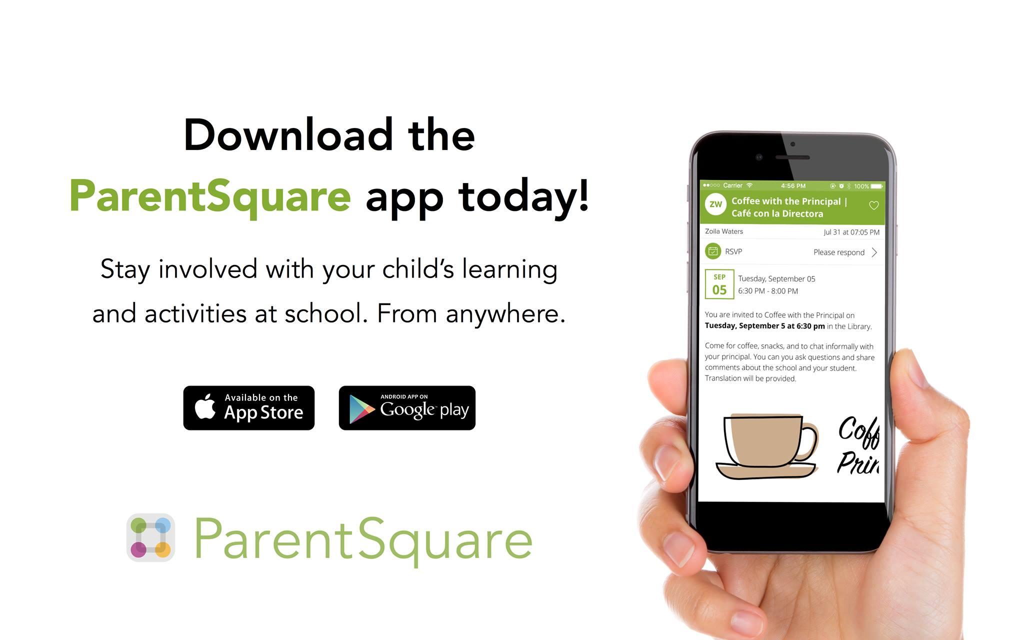 ParentSquare App invite